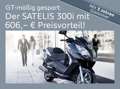 Satelis 300i – GT-mässig gespart