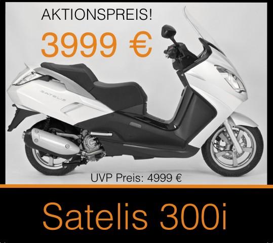 Peugeot Satelis 300i AKTION