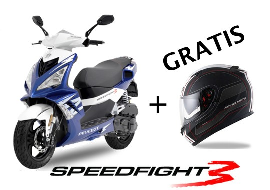 Peugeot Speedfight 3 Aktion