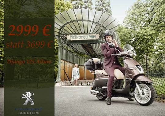 Peugeot Django Allure 125ccm – ANGEBOT